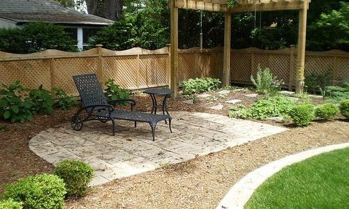 Backyard ideas for a small area