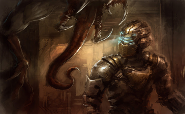 dead space 2 speedpainting