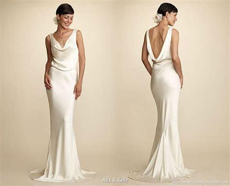 Alix & Kelly Elegant Wedding Gowns   Wedding Inspirasi