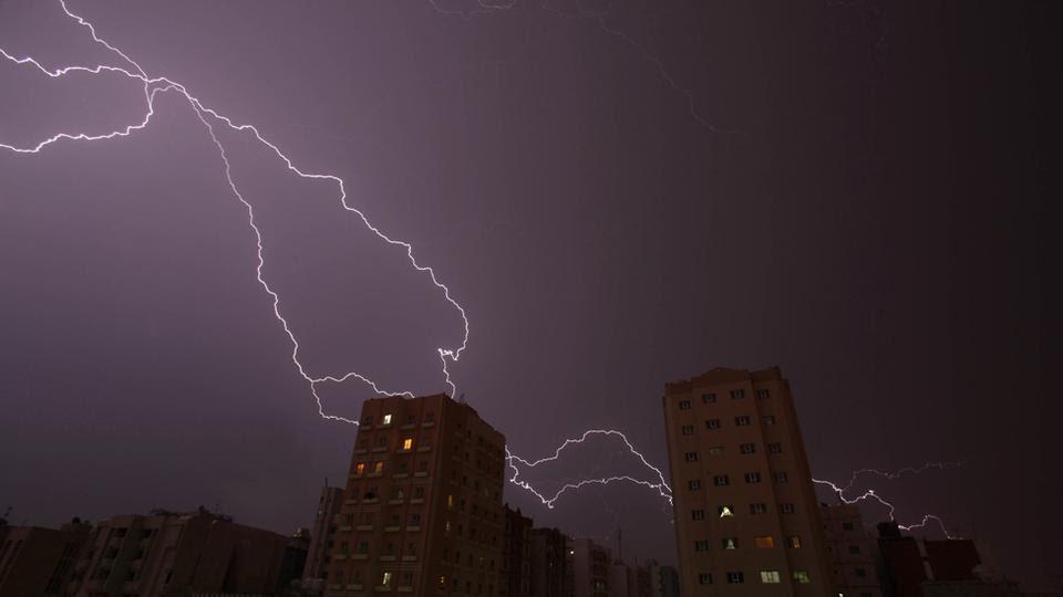 Καταιγίδα στο Κουβέιτ