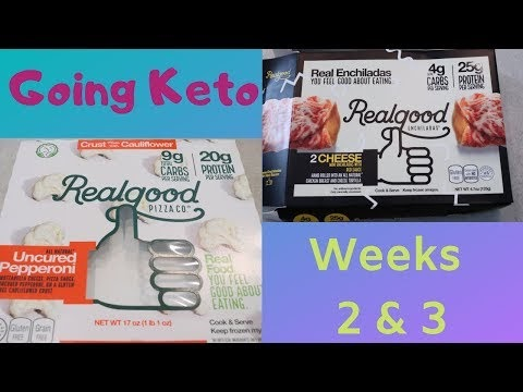 Going Keto | Weeks 2 and 3
