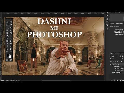 Dashni me Photoshop Lyrics - Mozzik