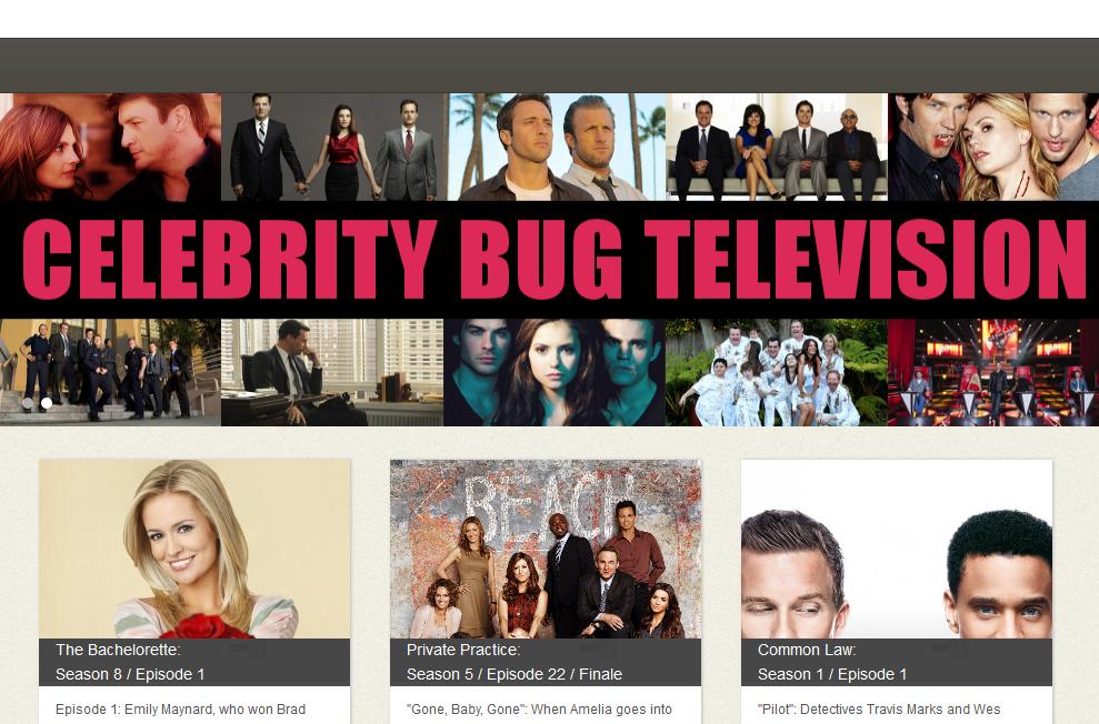 Celebrity Bug Television