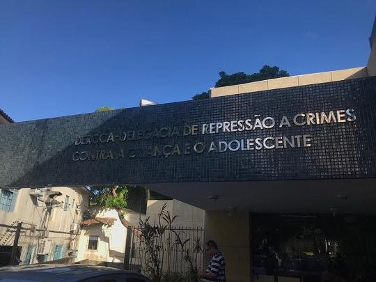 Delegacia de Repressão a Crimes Contra a Criança e o Adolescente (Dercca), em Salvador | Foto: Itana Alencar/G1BA