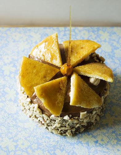 dobos torte - finished cake