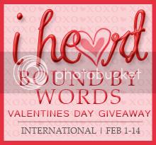 I Heart BoundbyWords V-Day Giveaway!