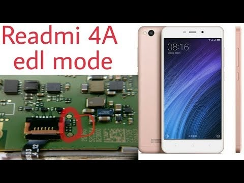 Redmi 4a edl mode solution and and easy hard reset and mi