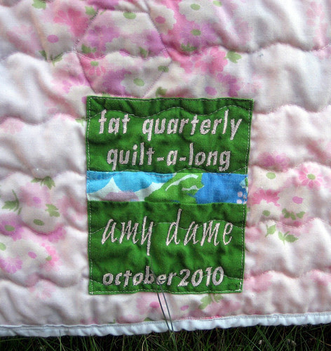 fat quarterly label