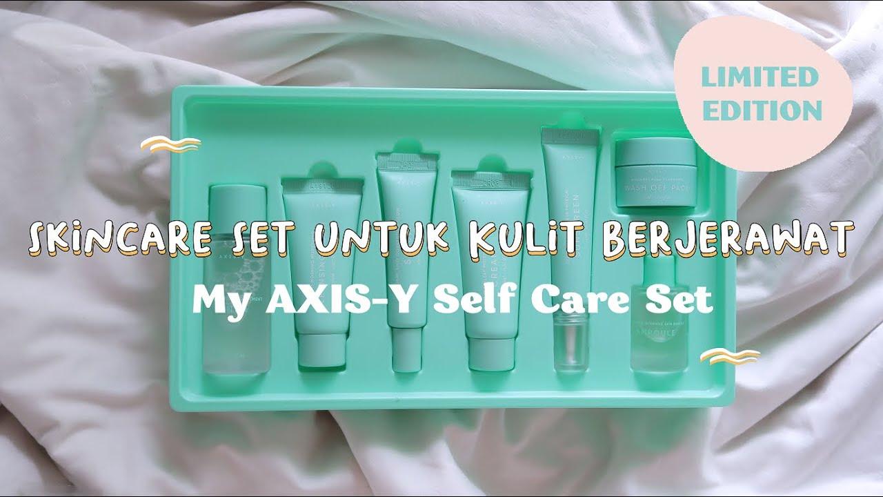 AXIS-Y SELF CARE SET UNTUK KULIT BERJERAWAT PAKET LENGKAP - berbagi Kuota