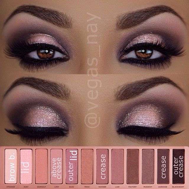 @vegas_nay | Steps to #urbandecaycosmetics Naked Palette 3 eyeshadows