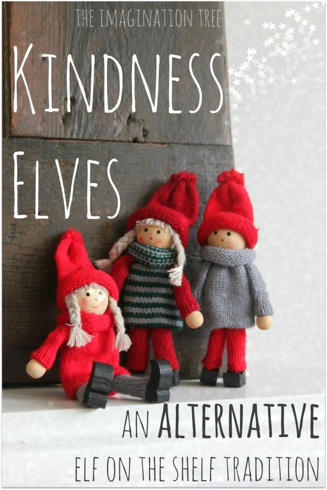 Kindness Elves Alternative Elf on the Shelf Tradition