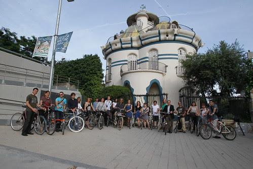 Foto de grup a la Torre de la Creu