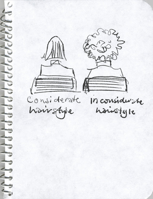 inconsiderate hairstyle