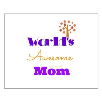 World's Awesome Mom Posters