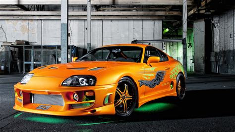 orange supra car wallpaper p  hd resolutions  site