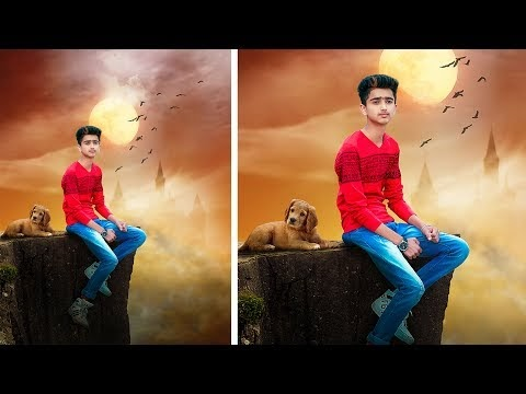 PHOTOSHOP ALONE AND LONELY BOY PHOTOSHOP MANIPULATION TUTORIAL