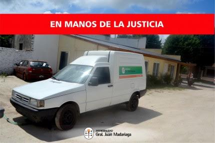 Entregaron la camioneta con pedido de secuestro a la justicia