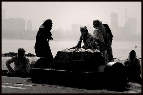 The Seaside Shrine Of Khwajah Khizar Mahim by firoze shakir photographerno1