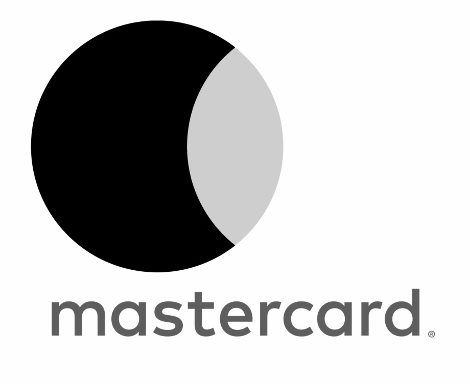 Mastercard Logo Black And White Master Card Logo - Clip Art Library