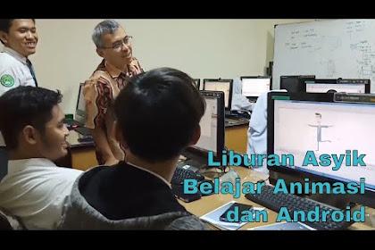 Jelang liburan, pelajar Kota Semarang asyik belajar animasi dan aplikasi android di Unissula