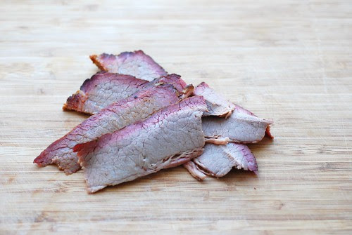 Brisket leftovers from RUB