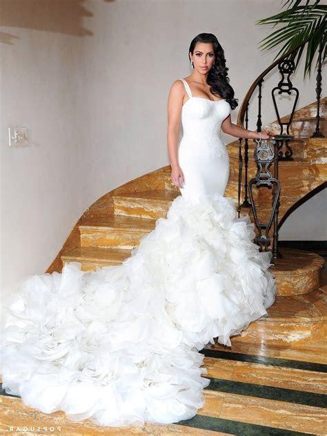 Kim Kardashian Wedding Dress Chris Humphries   Wedding