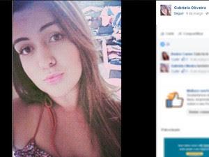 Gabriela Oliveira (Foto: Reprodução/Facebook)