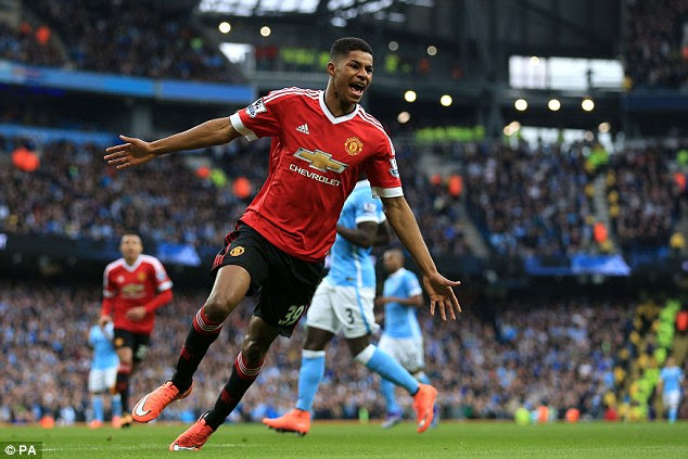 Marcus Rashford scored the winning goal when the two teams met back in March