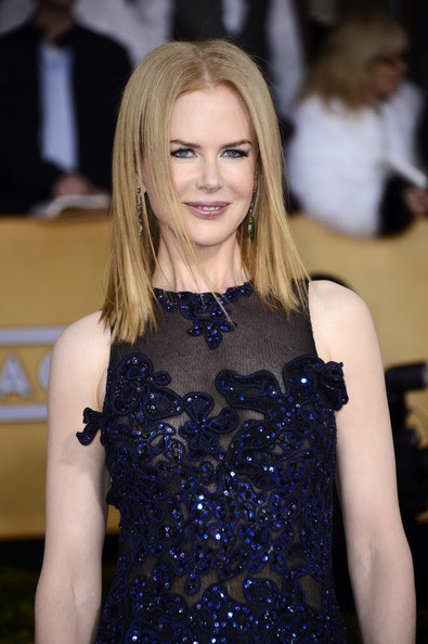 Actress Nicole Kidman arrives at the 19th Annual Screen Actors Guild Awards held at The Shrine Auditorium on January 27, 2013 in Los Angeles, California.
