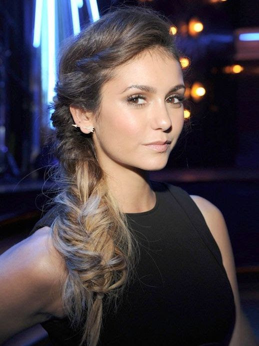 Le Fashion Blog -- 30 Inspiring Fishtail Braids -- Nina Dobrev Messy Side Braid Hair Style -- Via Hollywood Life -- photo 27-Le-Fashion-Blog-30-Inspiring-Fishtail-Braids-Nina-Dobrev-Messy-Side-Braid-Hair-Style-Via-Hollywood-Life.jpg
