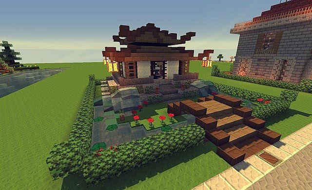 Minecraft China World Download - Ceria Bulat f