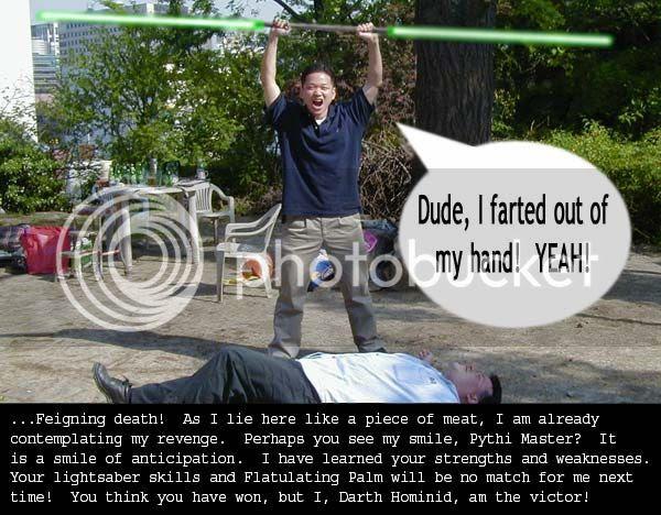 next Sith apprentice-- Darth Quaalude