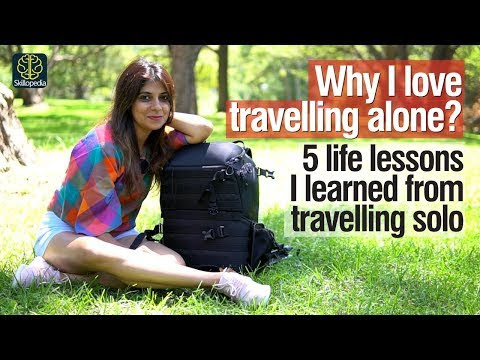 5 Lessons I learned travelling alone | Self Improvement & Personality Development Training video