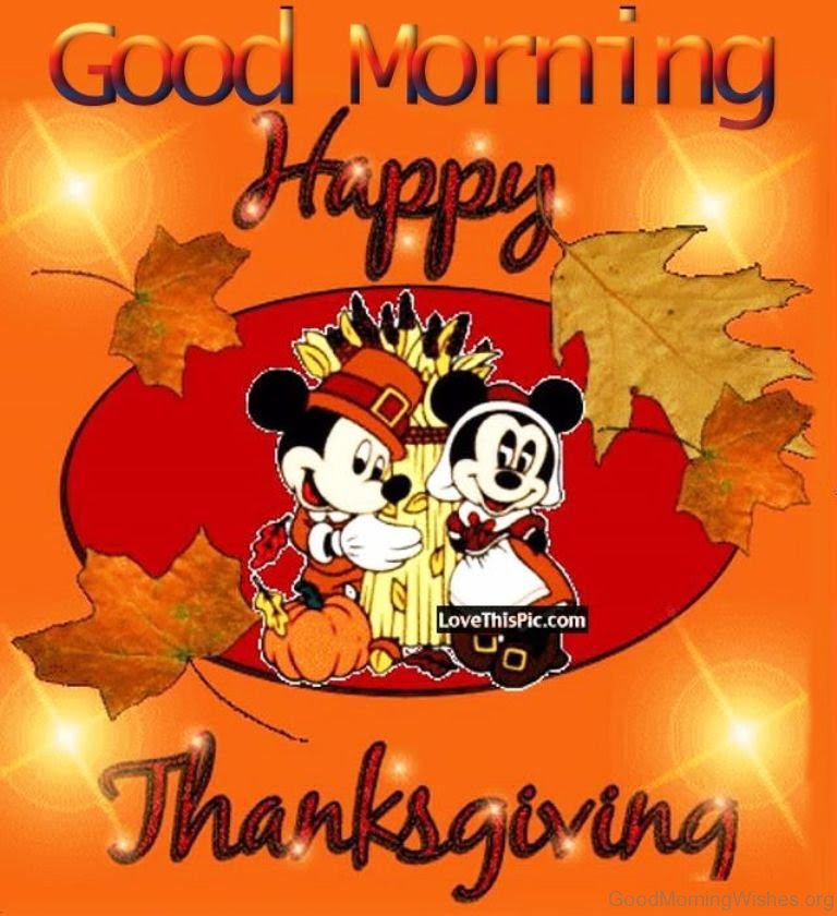 7 Good Morning Thanks Giving Quotes