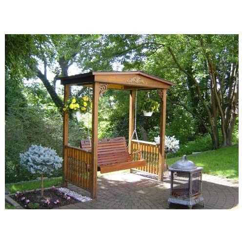 Garden Arbor Swing Plans