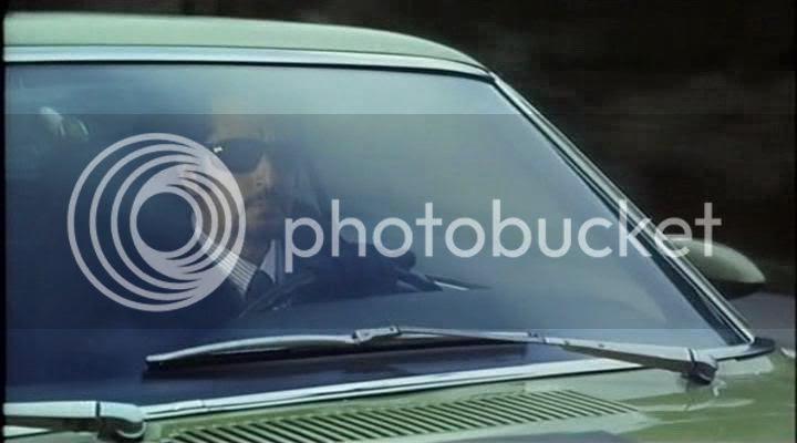 Porter in his car