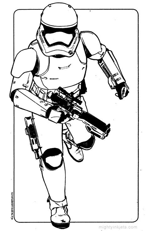 Download Stormtrooper Coloring Page at GetColorings.com   Free printable colorings pages to print and color