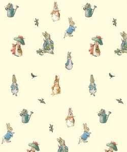 Beatrix Potter theme nursery!!! Cute!