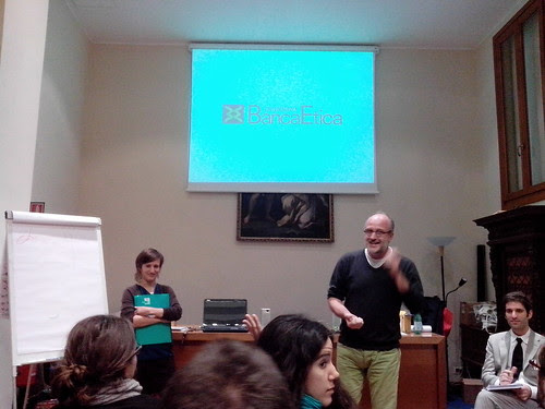 Talk, Banca Etica #costruirecultura by Ylbert Durishti