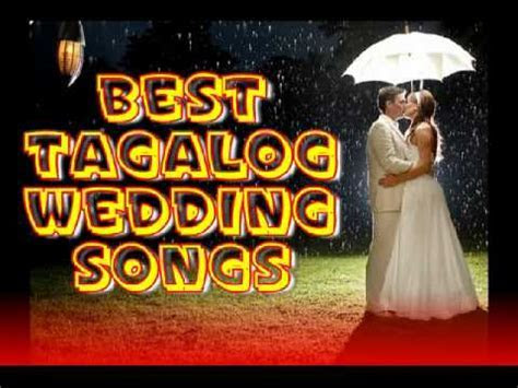 Best Tagalog Wedding Songs NON STOP Pinoy Love Songs   YouTube