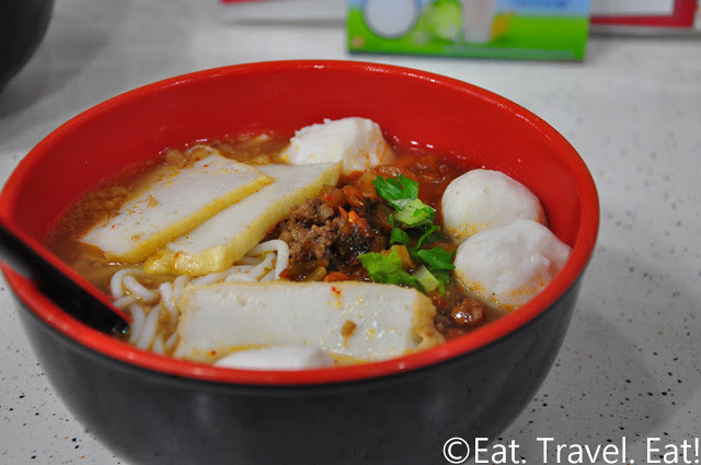 Fish Balls + Special Topping Noodle Soup