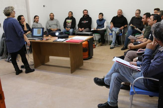 Uno de los cursos formativos de Biciclot en Can Picó