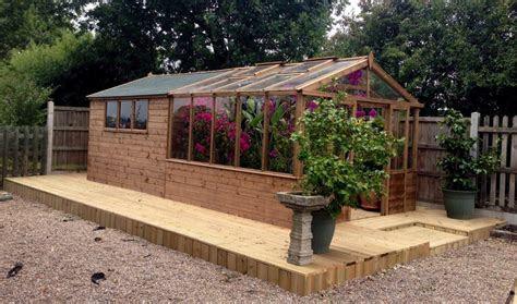 greenhouseshed combo range dunster house blog