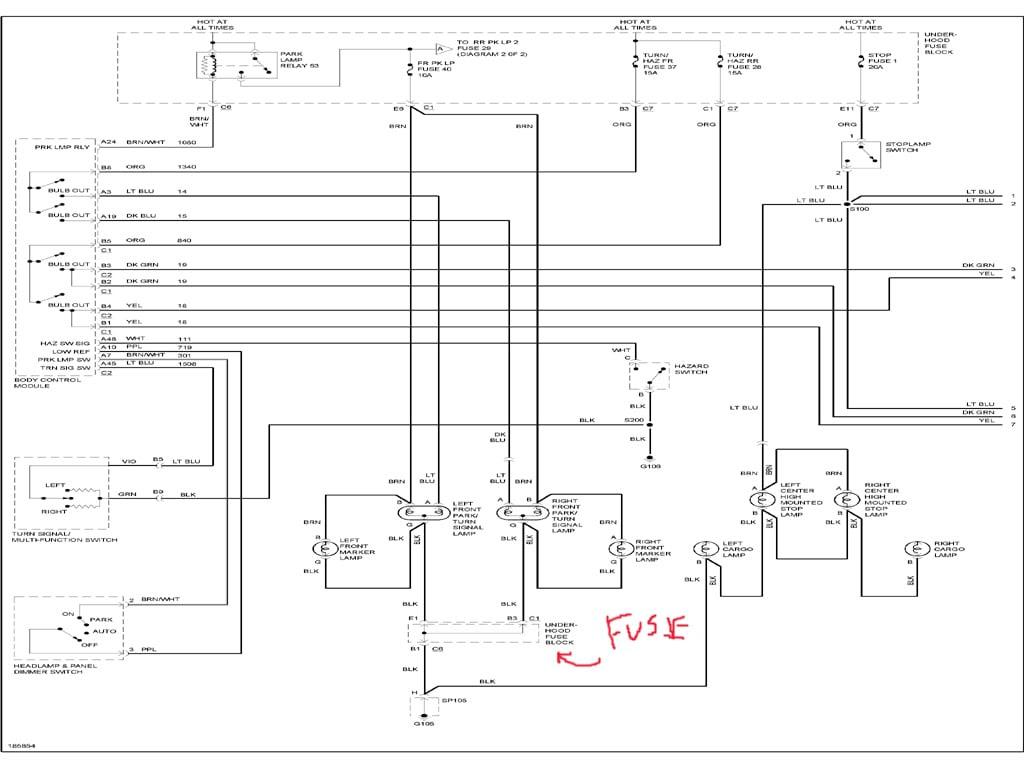 52a4f 2004 Chevrolet Colorado Wiring Diagram Wiring Library