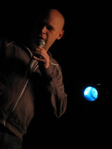 John Roy at Chicago Underground Comedy Dec. 2, 2008