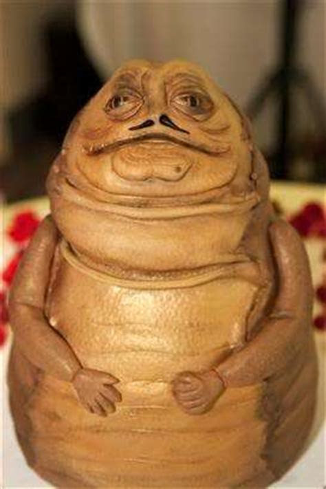 Star Wars Confections : Jabba the Hut Cakes