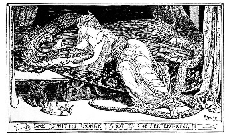 Henry Justice Ford - The violet fairy book, edited by Andrew Lang, 1906 (illustration 2)
