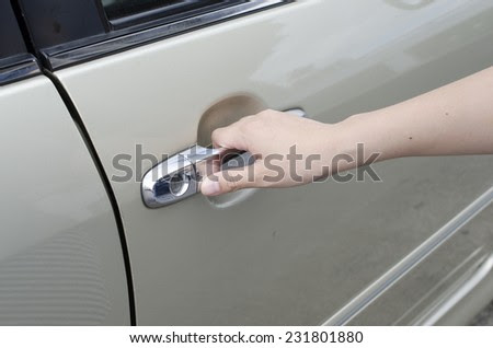 Checking Air Pressure Tire Tirepressure Gauge Stock Photo 61841674 Shutterstock