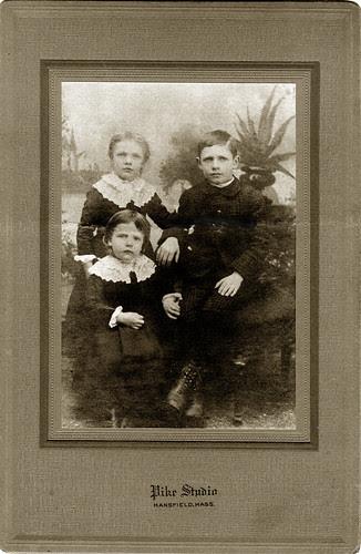 Isabel ,Percy and Eufalia Jane.