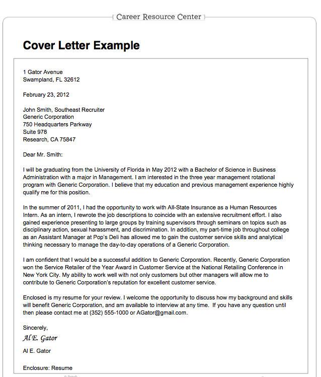 Cover Letter For Science Job Sample Cover Letter